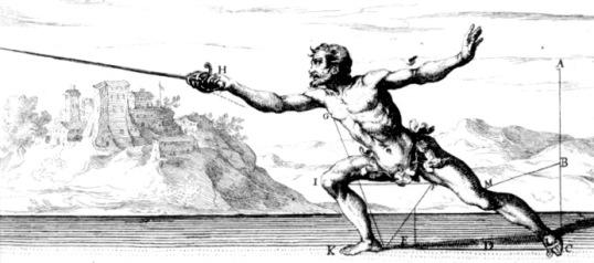 Figure 2: Capo Ferro's Lunge Step